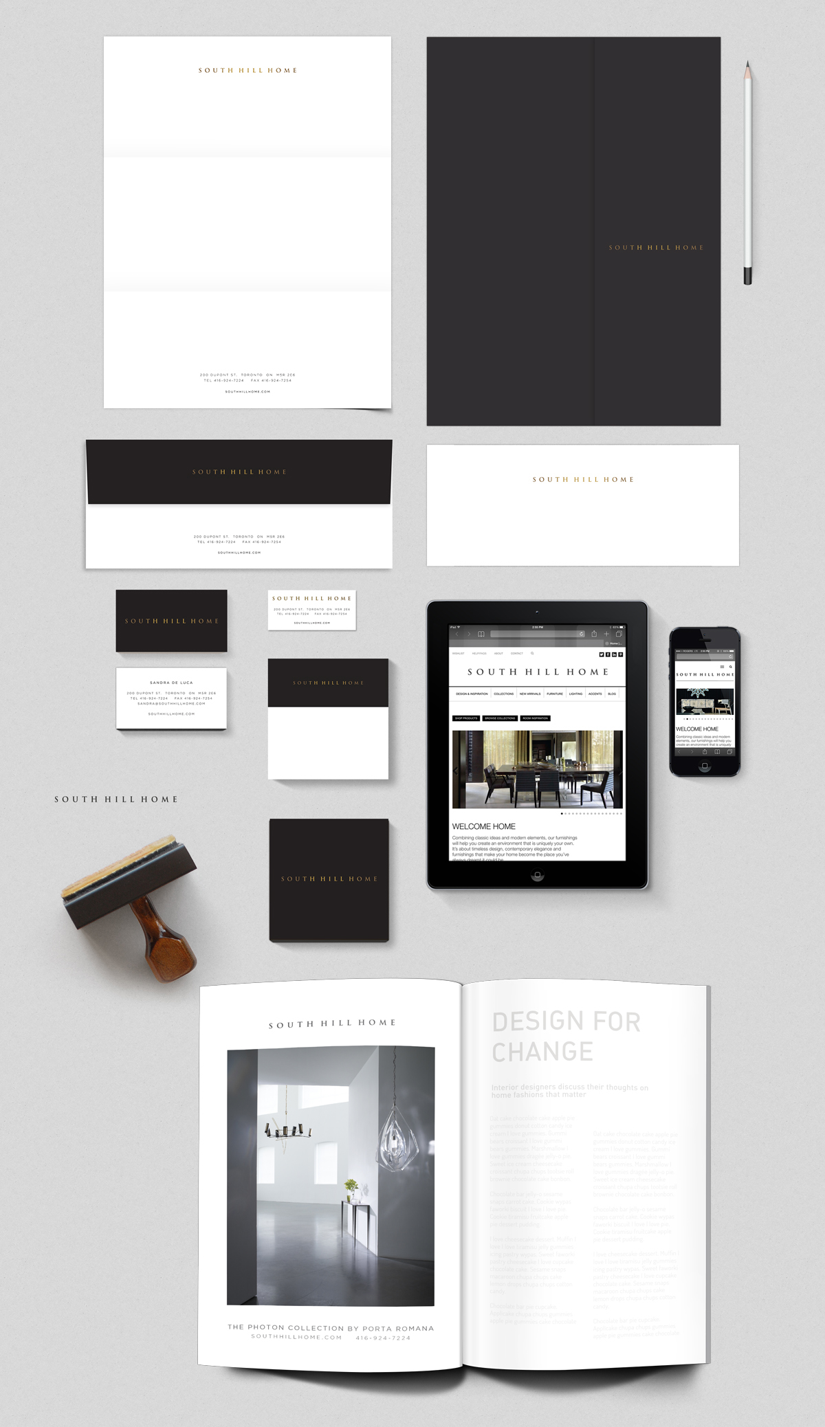 C+C_SouthHillHome_Rebrand_Stationery